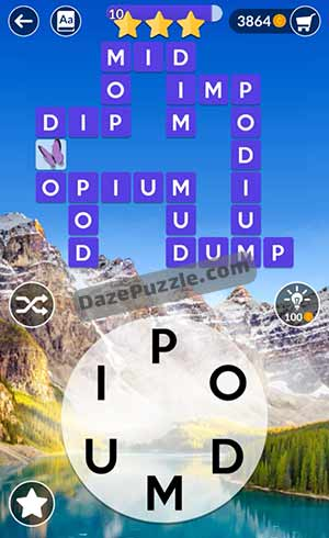 wordscapes june 28 2021 daily puzzle answer