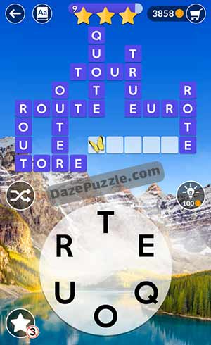 wordscapes june 4 2021 daily puzzle answer