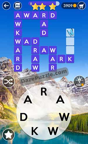 wordscapes june 7 2021 daily puzzle answer