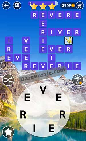 wordscapes june 9 2021 daily puzzle answer