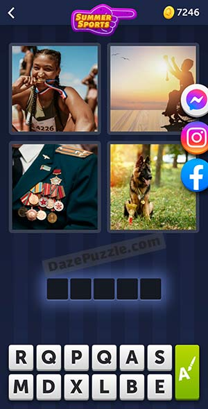 4 pics 1 word july 12 2021 daily puzzle answer
