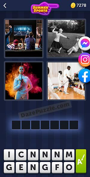 4 pics 1 word july 13 2021 daily puzzle answer
