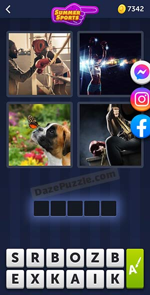 4 pics 1 word july 15 2021 daily puzzle answer