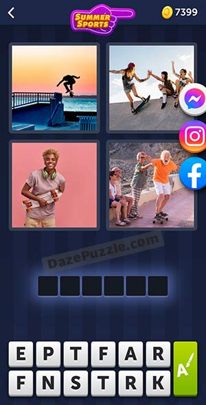 4 pics 1 word july 16 2021 daily puzzle answer