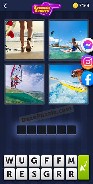 4 pics 1 word july 18 2021 daily puzzle answer
