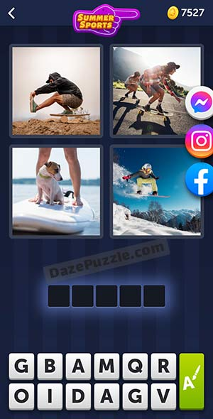 4 pics 1 word july 20 2021 daily puzzle answer
