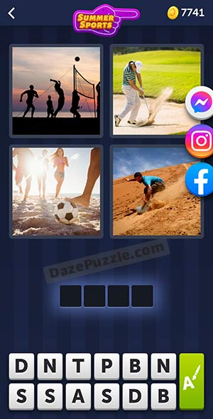 4 pics 1 word july 22 2021 daily puzzle answer