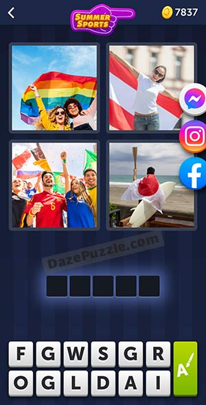 4 pics 1 word july 25 2021 daily puzzle answer