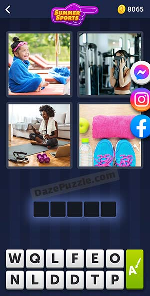 4 pics 1 word july 29 2021 daily puzzle answer