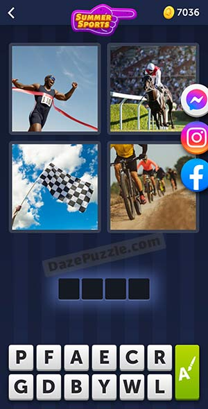 4 pics 1 word july 7 2021 daily puzzle answer