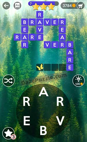 wordscapes july 10 2021 daily puzzle answer