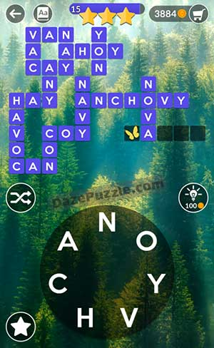 wordscapes july 11 2021 daily puzzle answer