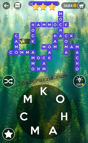 wordscapes july 14 2021 daily puzzle answer