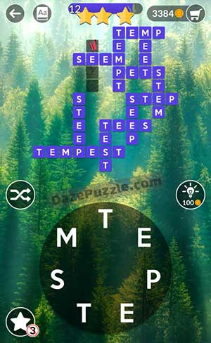 wordscapes july 15 2021 daily puzzle answer