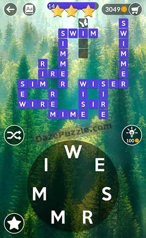 wordscapes july 22 2021 daily puzzle answer