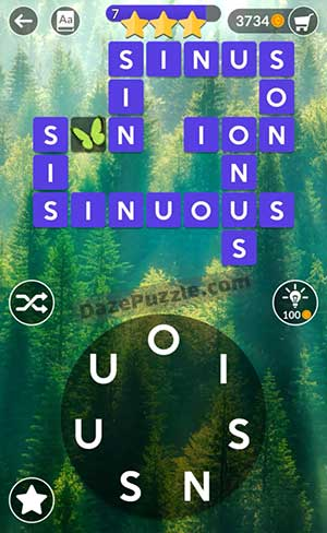 wordscapes july 3 2021 daily puzzle answer