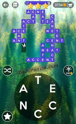 wordscapes july 5 2021 daily puzzle answer