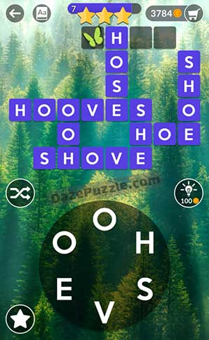 wordscapes july 6 2021 daily puzzle answer