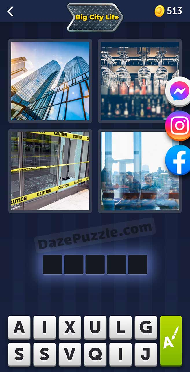 4 pics 1 word august 25 2021 daily puzzle answer