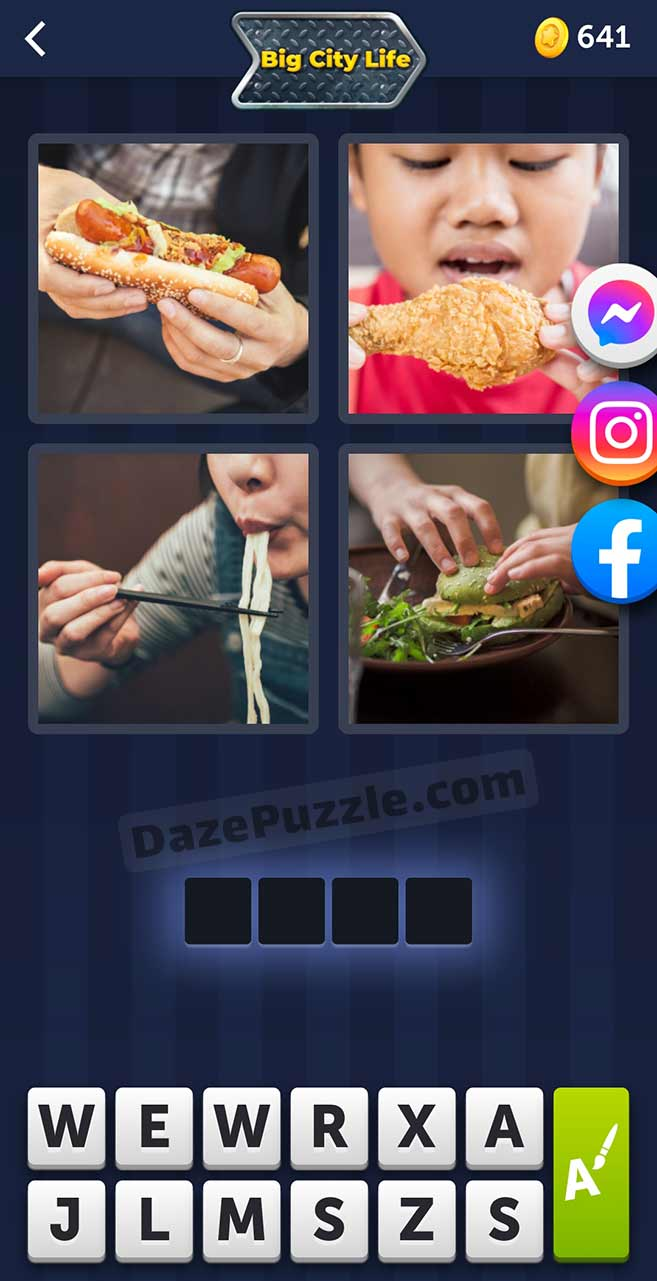4 pics 1 word august 29 2021 daily puzzle answer