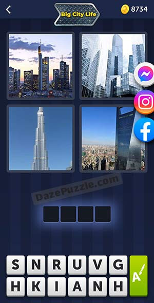 4 pics 1 word august 3 2021 daily puzzle answer