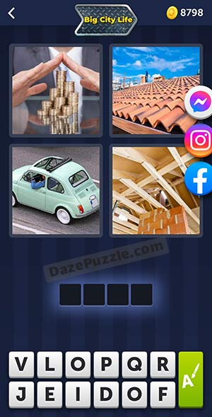 4 pics 1 word august 5 2021 daily puzzle answer
