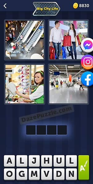 4 pics 1 word august 6 2021 daily puzzle answer