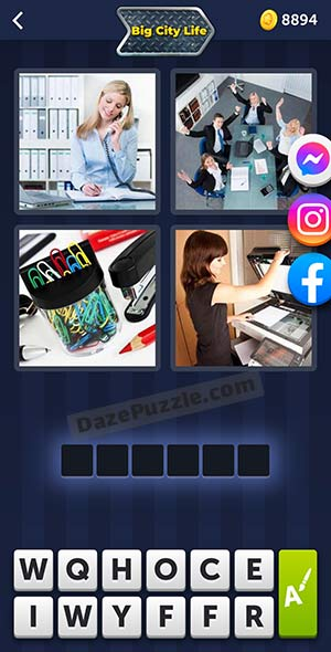 4 pics 1 word august 8 2021 daily puzzle answer