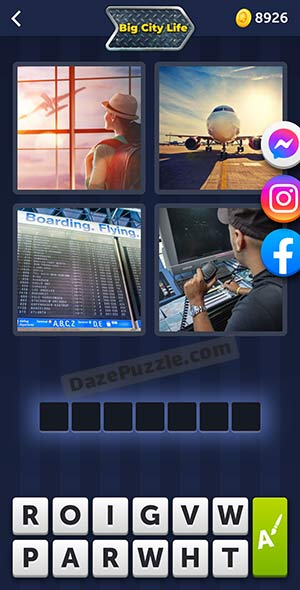 4 pics 1 word august 9 2021 daily puzzle answer