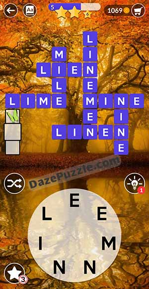 wordscapes august 12 2021 daily puzzle answer