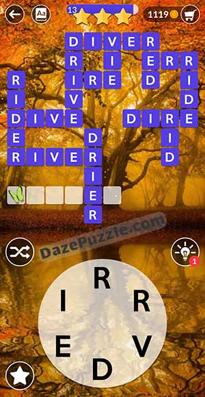 wordscapes august 18 2021 daily puzzle answer