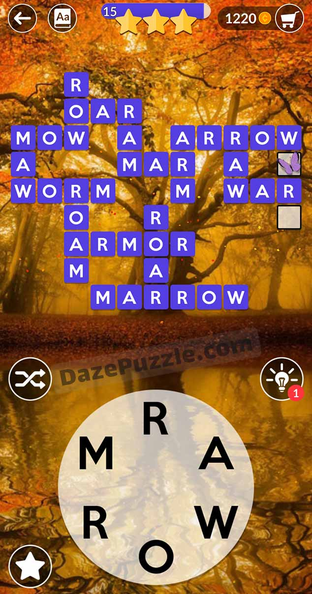 wordscapes august 24 2021 daily puzzle answer