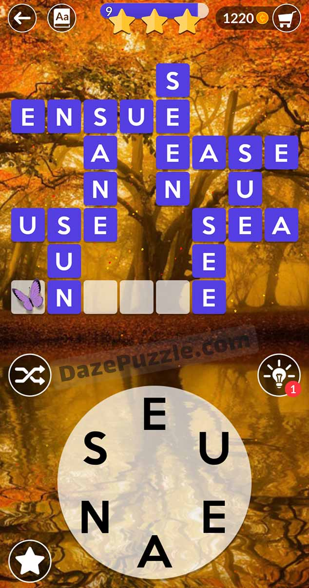 wordscapes august 25 2021 daily puzzle answer