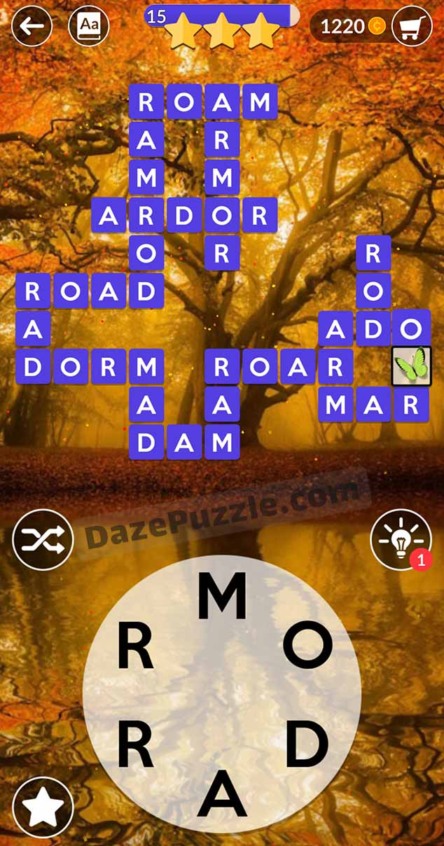 wordscapes august 31 2021 daily puzzle answer