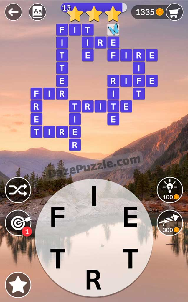 wordscapes september 17 2021 daily puzzle answer
