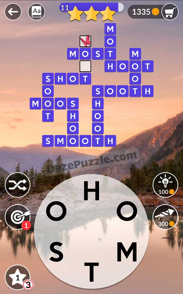 wordscapes september 19 2021 daily puzzle answer