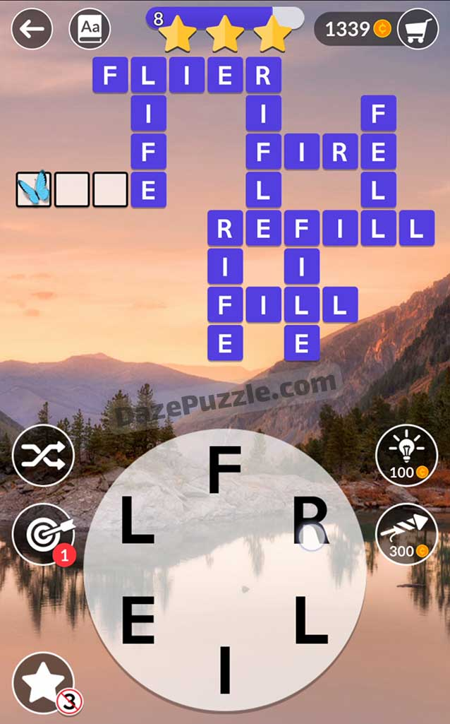 wordscapes september 23 2021 daily puzzle answer