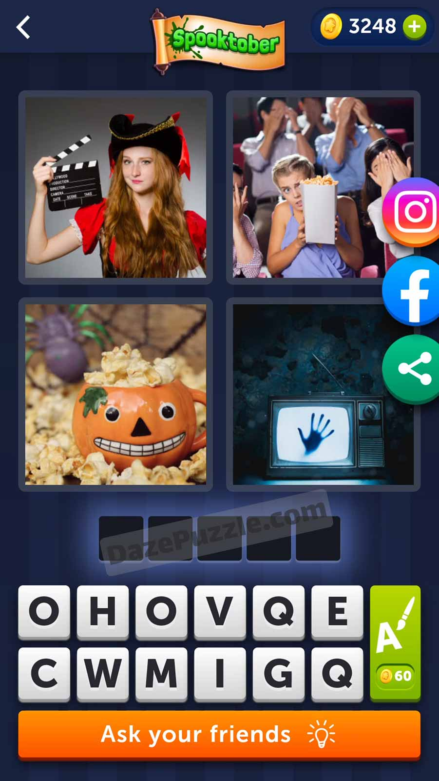 4 pics 1 word october 10 2021 daily puzzle answer