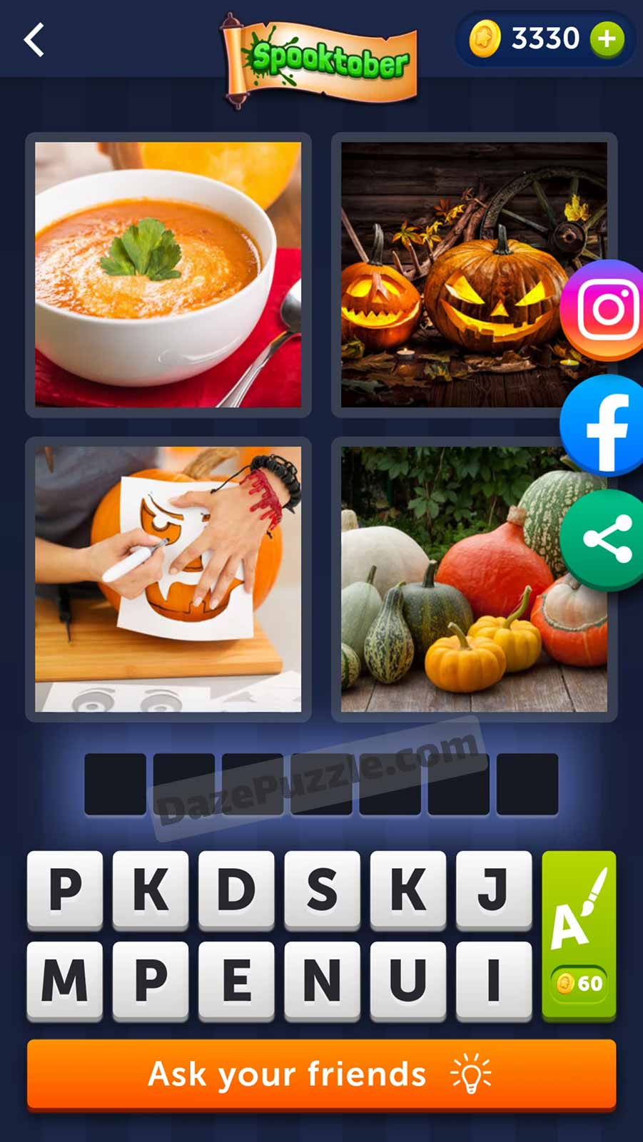 4 pics 1 word october 11 2021 daily puzzle answer