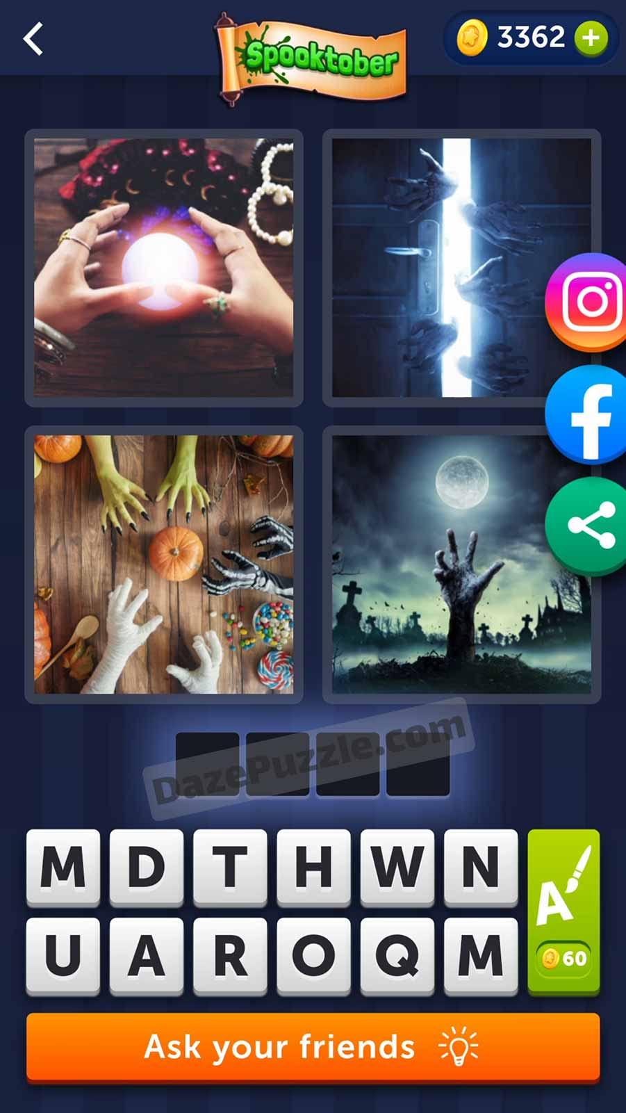 4 pics 1 word october 12 2021 daily puzzle answer