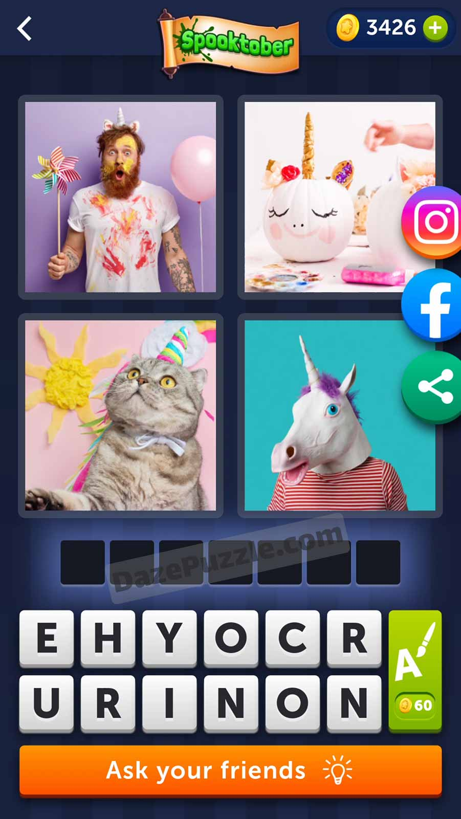 4 pics 1 word october 14 2021 daily puzzle answer