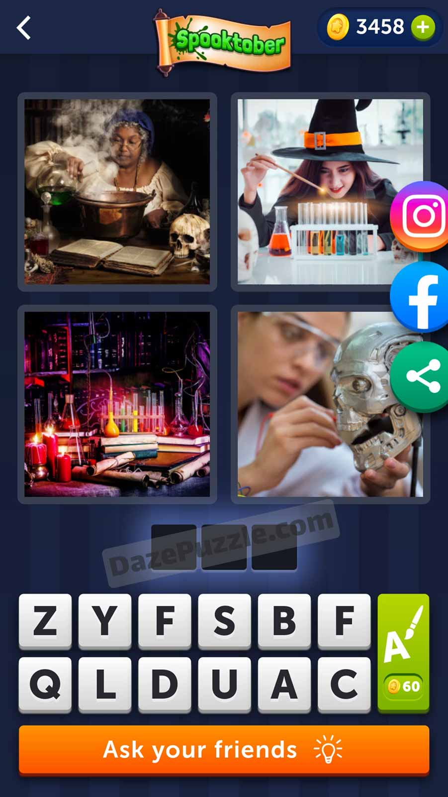 4 pics 1 word october 15 2021 daily puzzle answer