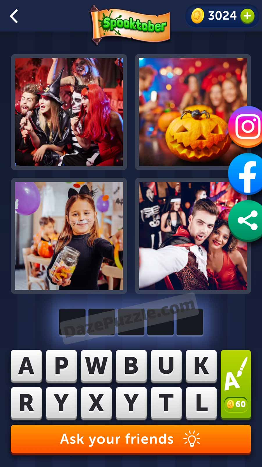 4 pics 1 word october 3 2021 daily puzzle answer