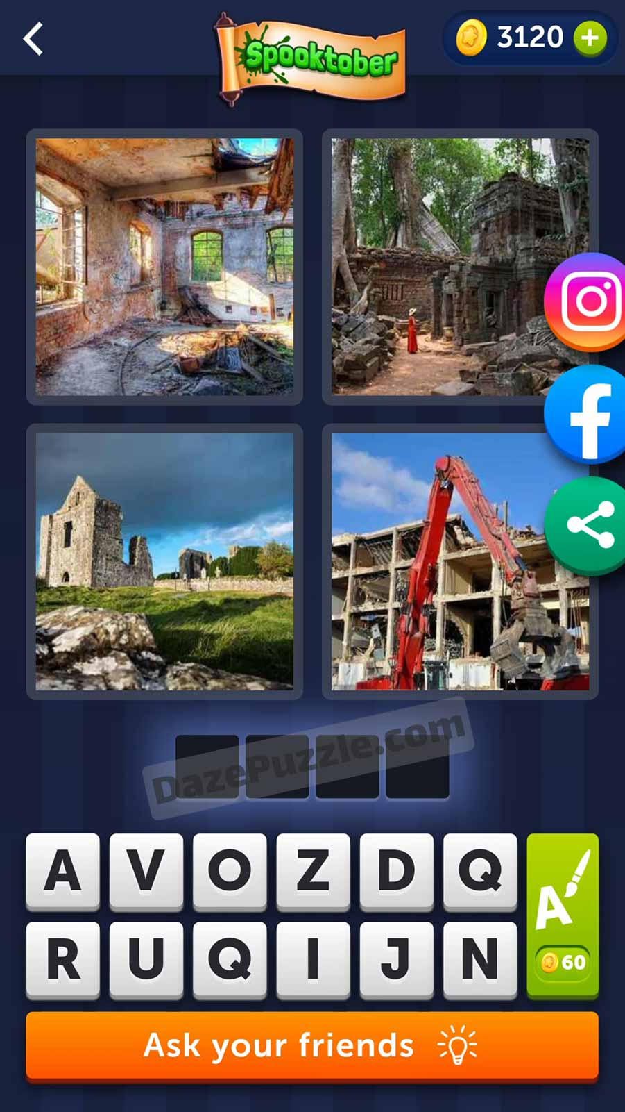 4 pics 1 word october 6 2021 daily puzzle answer