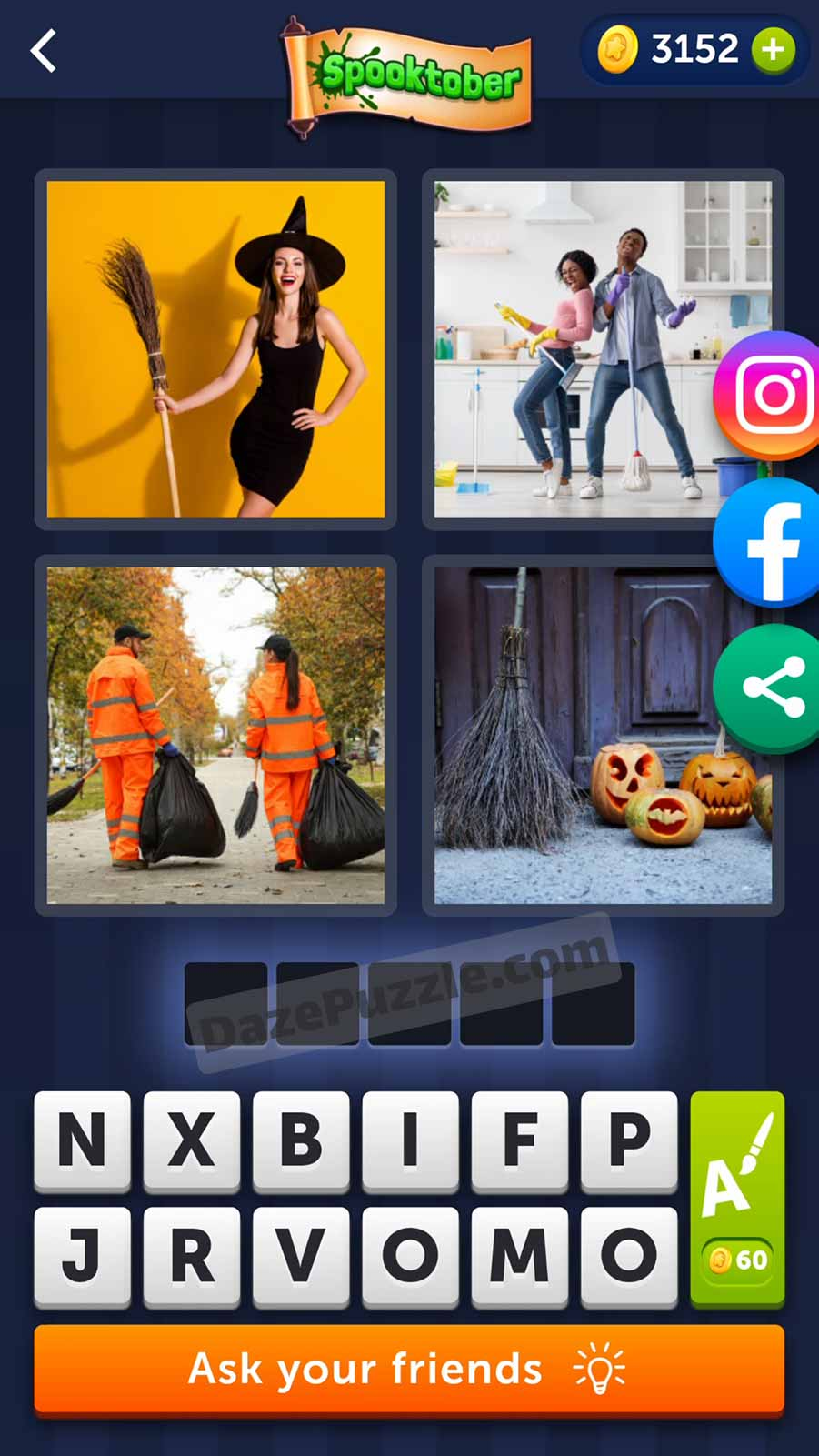 4 pics 1 word october 7 2021 daily puzzle answer