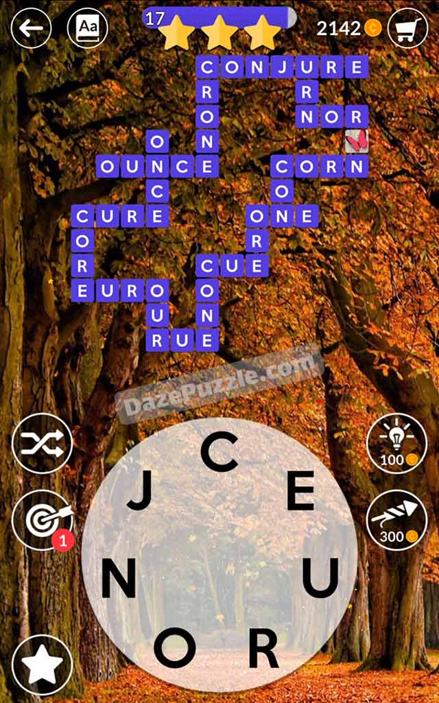 wordscapes october 11 2021 daily puzzle answer