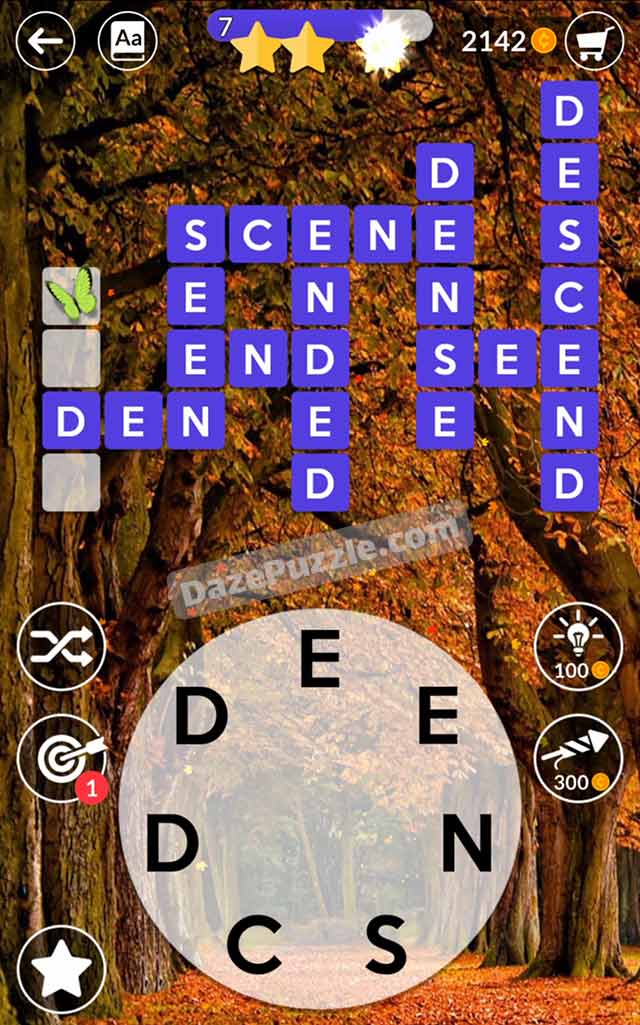 wordscapes october 15 2021 daily puzzle answer
