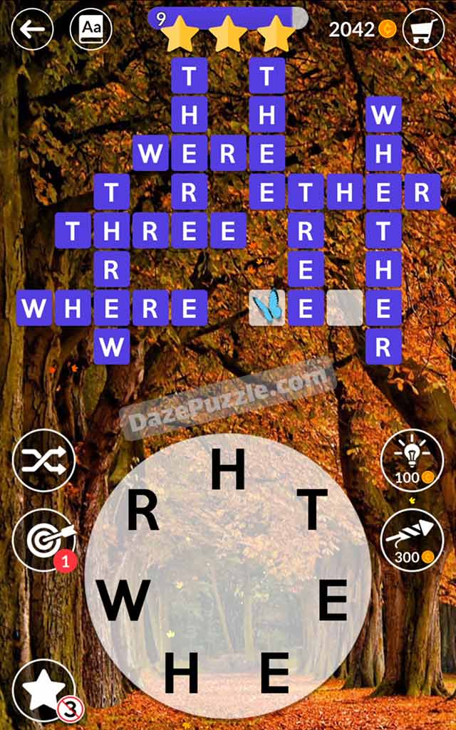 wordscapes october 8 2021 daily puzzle answer