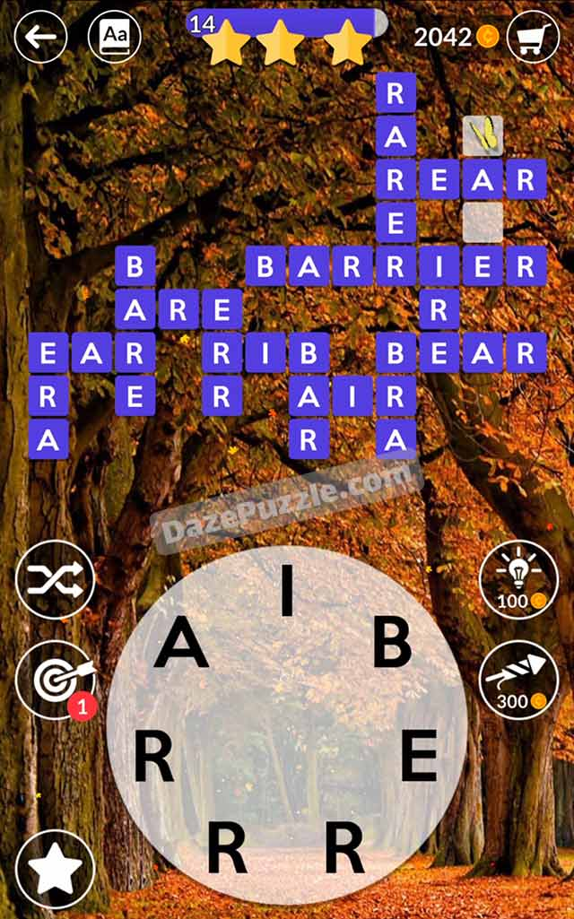 wordscapes october 9 2021 daily puzzle answer